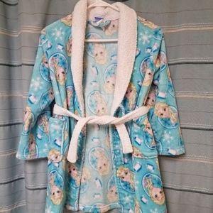 Disney Girls size 8 robe